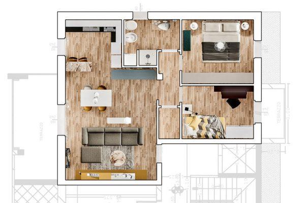 planimetria_piano_primo_85mq_condominio_il_noce_edilizia_fontanella